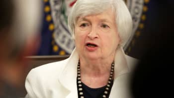 Federal Reserve Chairman Janet Yellen speaks during a news conference after a two-day Federal Open Markets Committee (FOMC) policy meeting, in Washington, September 20, 2017.