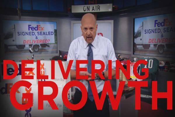 Cramer Remix: Why FedEx could still deliver huge upside