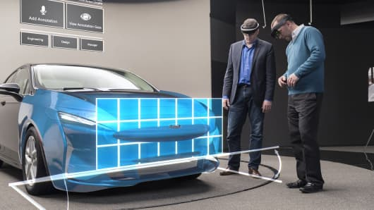 Ford tests Microsoft HoloLens