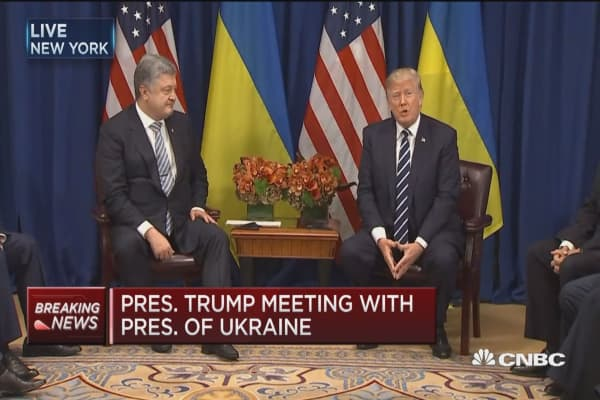 Trump: Companies are going strongly into the Ukraine