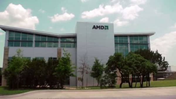 Wall Street is gushing over AMD on its A.I. chip relationship with Tesla