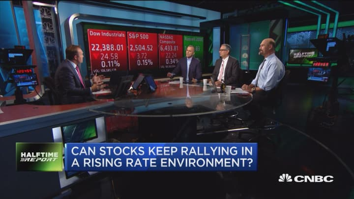 What's driving this market is earnings: Trader