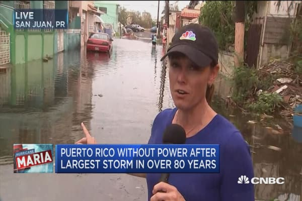 Puerto Rico without power after largest storm in over 80 years