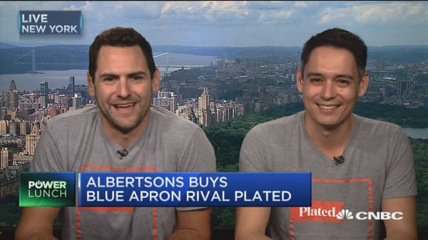 We're gonna kill Amazon Fresh, Blue Apron with this partnership: Plated co-founder on being bought by Albertsons