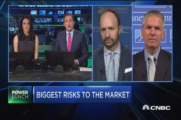 Riverfront's Doug Sandler: Here are the three biggest risks to the market