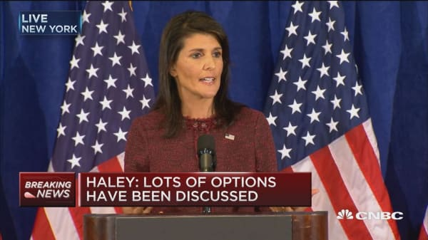UN Amb. Haley: If Iran deal is in best interest of US, he will not certify