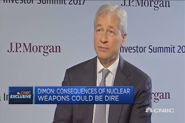 Jamie Dimon on the nuclear threat from North Korea