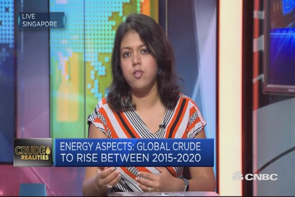 OPEC should be happy with crude stocks: Energy Aspects
