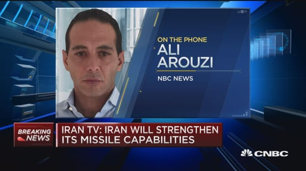 Iran TV: Iran will strengthen its missile capabilities