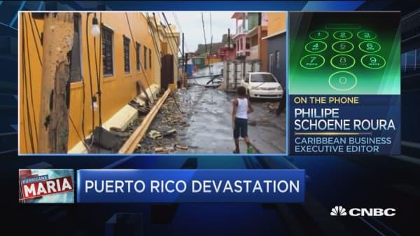 Puerto Rico after Maria 'horrific': Caribbean Business' Roura