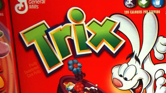 General Mills Trix cereal.