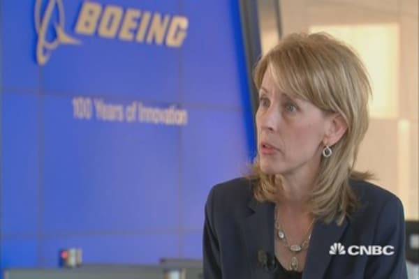 Boeing is a space 'buyer' if the right acquisition comes along
