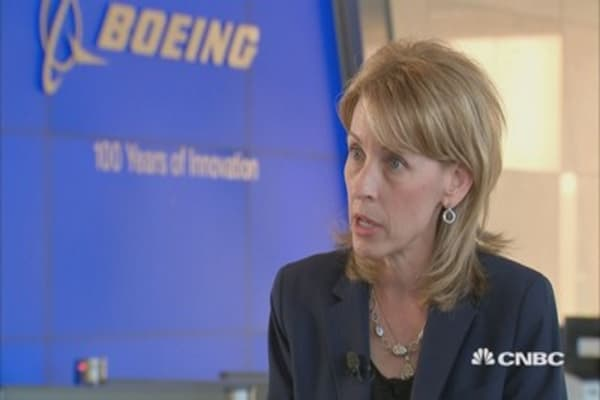 There is an 'excitement about space' not seen in the past decade, Boeing Defense CEO says