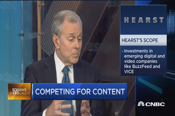 Hearst CEO: This is a golden age to be a consumer of television