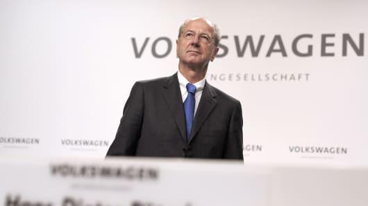 Hans Dieter Poetsch, Chairman of the Supervisory Board of Volkswagen AG.