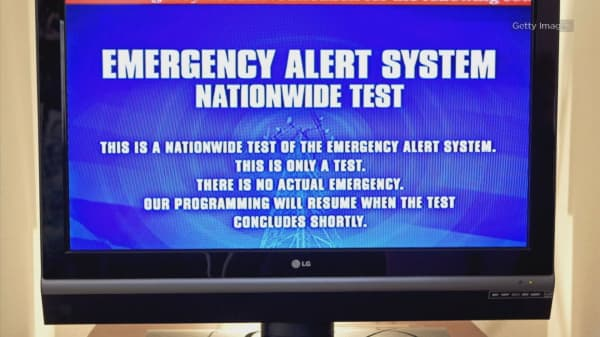 Apocalyptic emergency alert flashes on TVs in California