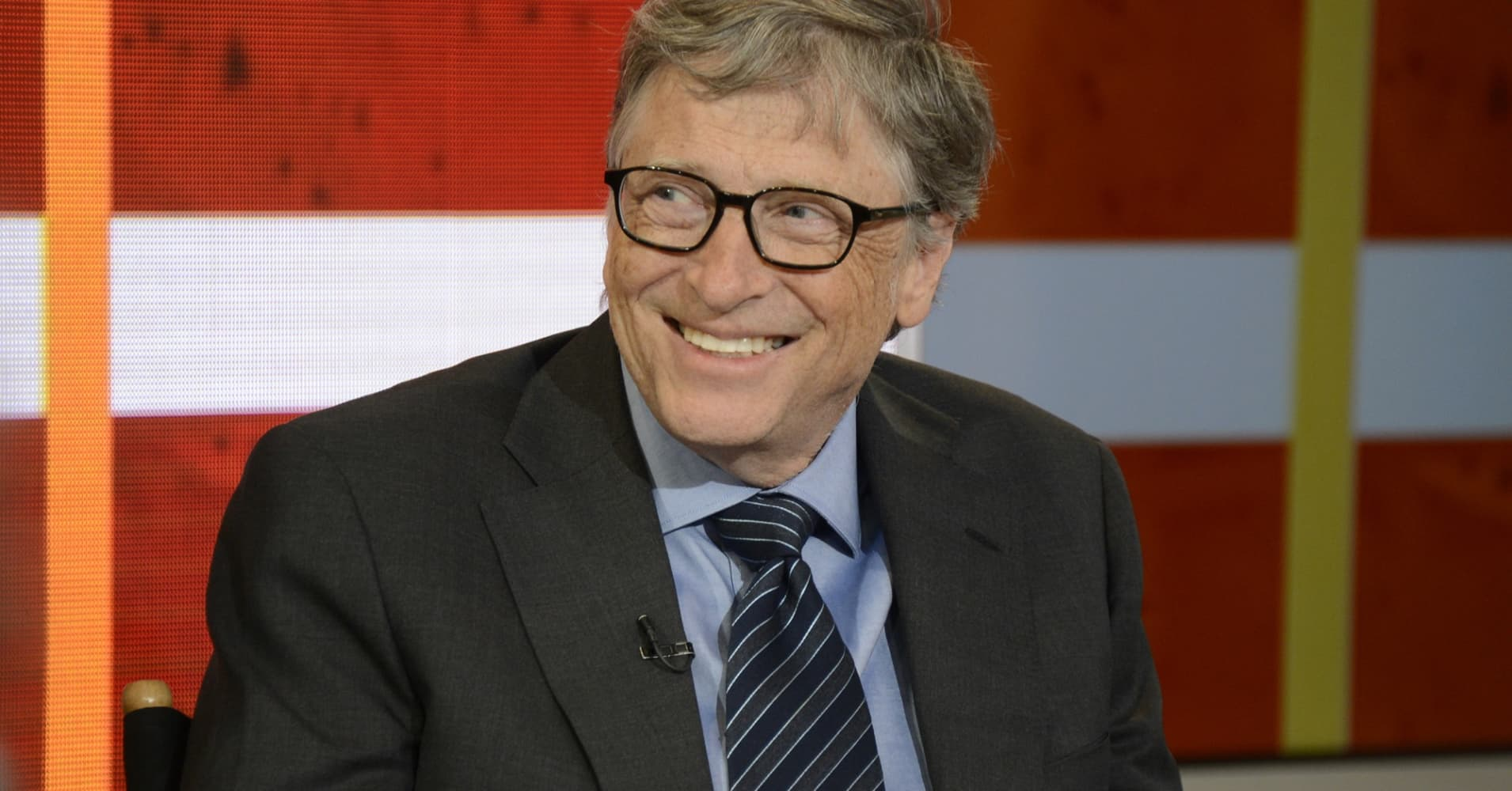 Bill Gates appears on 'Good Morning America' on ABC.