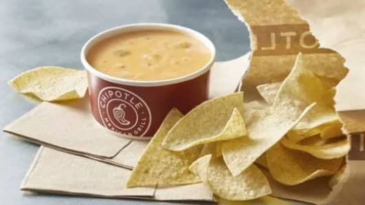 Chipotle Mexican Grill Queso.