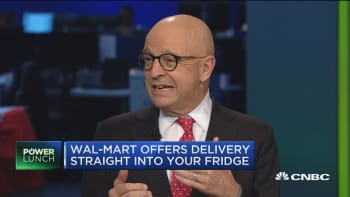 This is just a first test, but it could work: Jan Kniffen on Wal-Mart home deliver