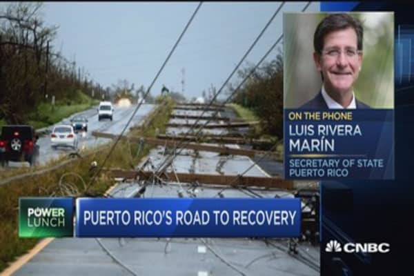 Puerto Rico Sec. of State on restoring power to the island