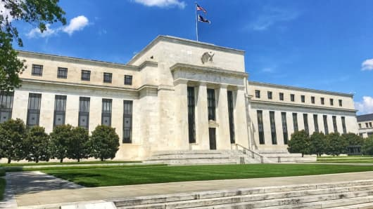 The Marriner S Eccles building of the United States Federal Reserve in Washington, DC, on Jul. 24, 2017.