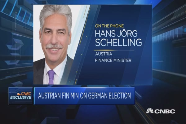 German election result not good, but not a disaster: Austrian FinMin