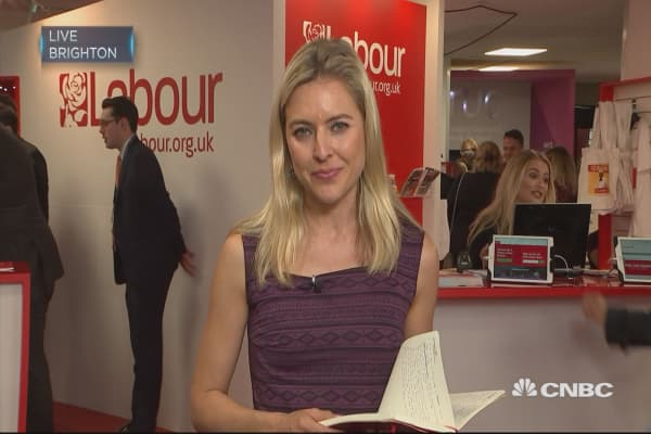 UK Labour Party conference: Brexit pushed to sidelines of debate