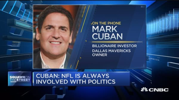 Why did the president say anything at all? Mark Cuban