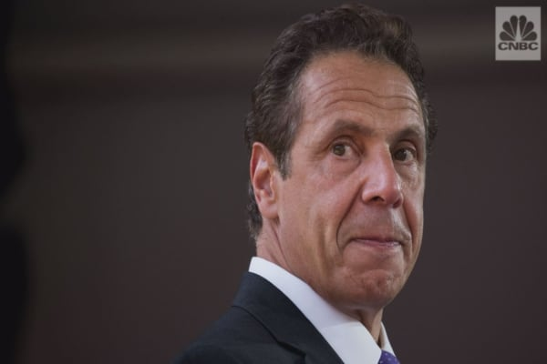 New York Gov. Andrew Cuomo is calling for Puerto Rico relief
