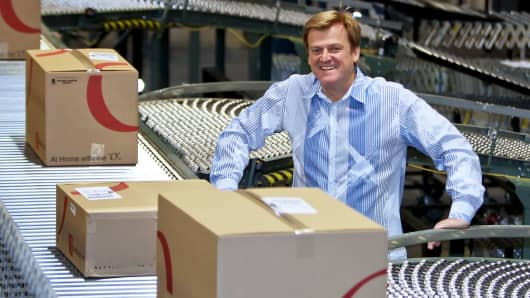 Patrick M. Byrne, chairman and chief executive officer of Overstock.com