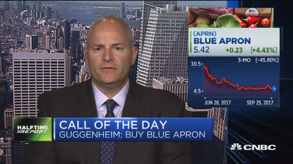 Guggenheim says to buy Blue Apron
