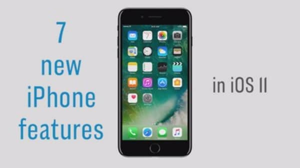 7 new iPhone features from Apple's new iOS 11