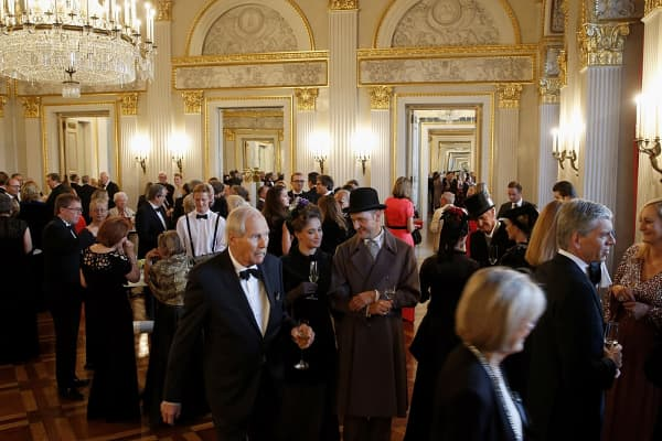 Traditional Buehnendinner 2017 at Bayerische Staatsoper.