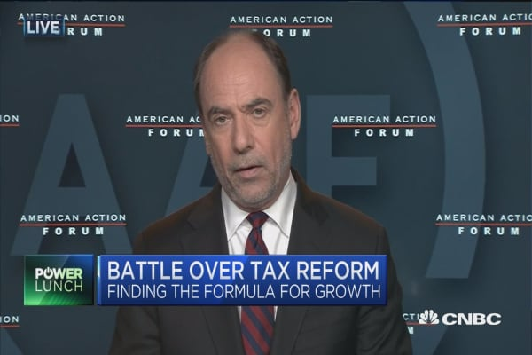 Distractions are not helpful for tax reform: Doug Holtz-Eakin