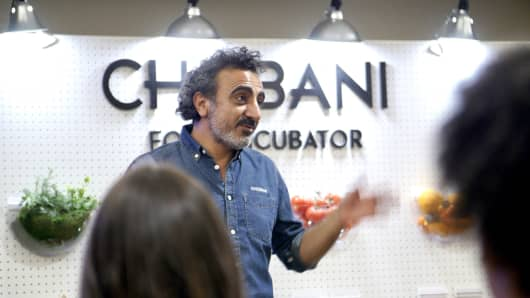 Chobani founder Hamdi Ulukaya launched the company's food incubator in 2016.