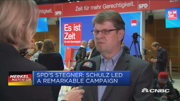 Martin Shulz should continue as SPD leader despite election loss: Politician