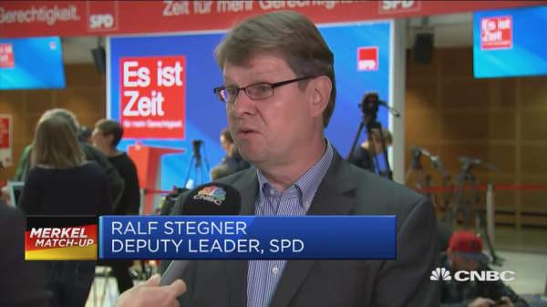 Black day for social democracy in Germany