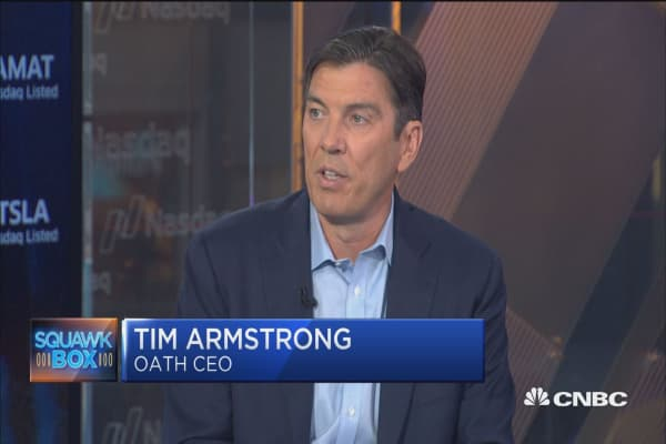 Tim Armstrong: Digital advertising all about growth