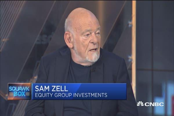Billionaire investor Sam Zell: Retail landscape looks like a 'falling knife'