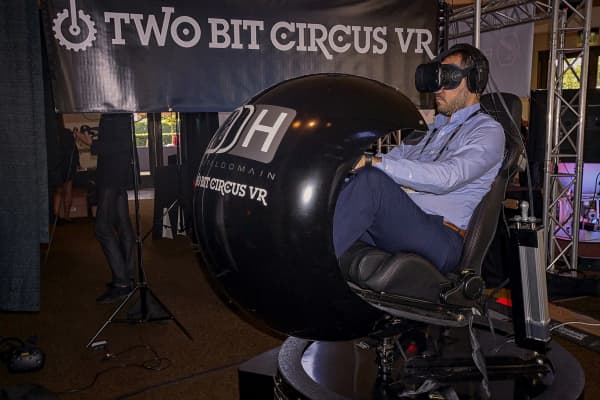 Two Bit Circus VR at Paramount Studios on October 14, 2016 in Hollywood, California.
