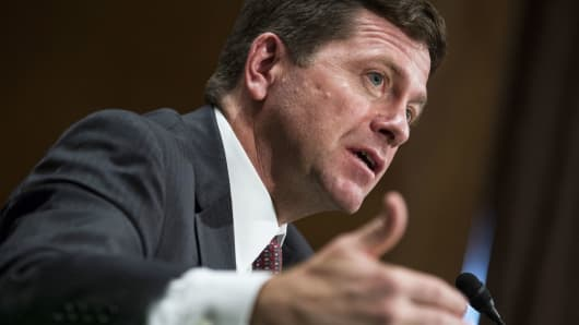 Jay Clayton, chairman of U.S. Securities and Exchange Commission