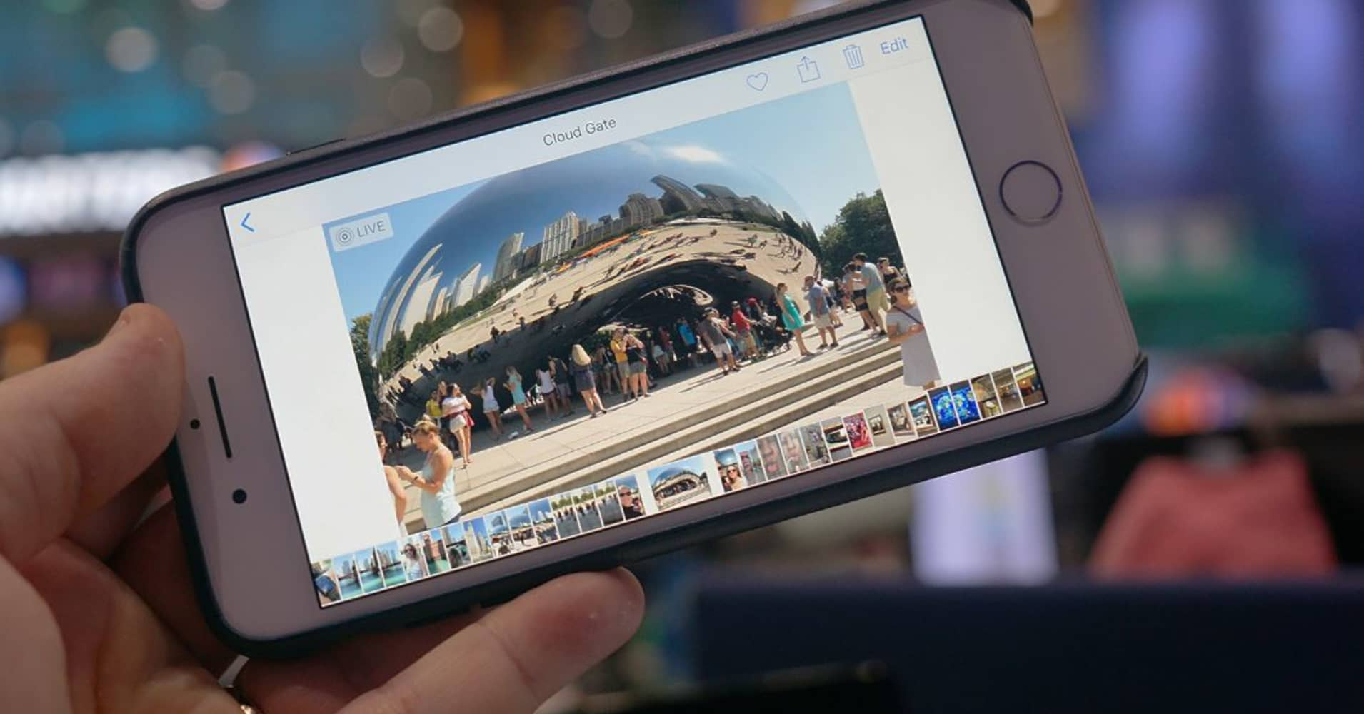 Use the new camera features in iOS 11