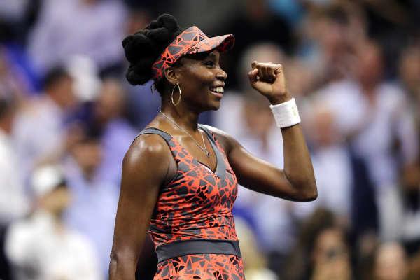Venus Williams during the 2017 US Open.