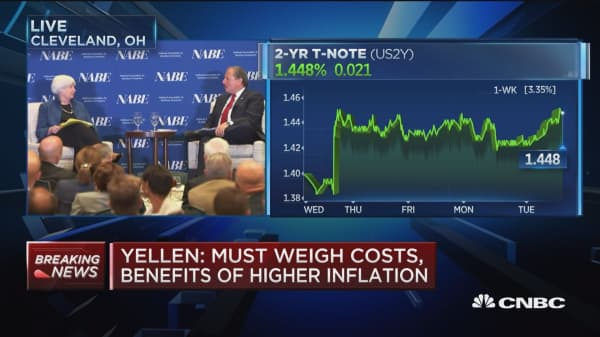 Fed Chair Yellen: Rate hike schedule not set in stone