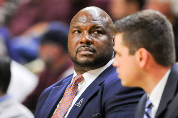 Chuck Person, Auburn Assistant Coach in February, 2015.