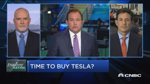 Trading Nation: Time to buy Tesla?