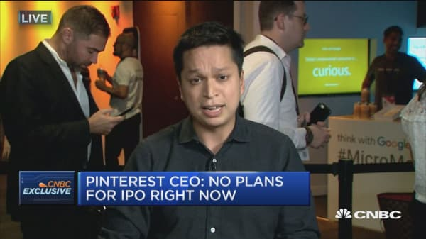 Pinterest CEO on Target partnership: Target has been early advertiser on mobile app
