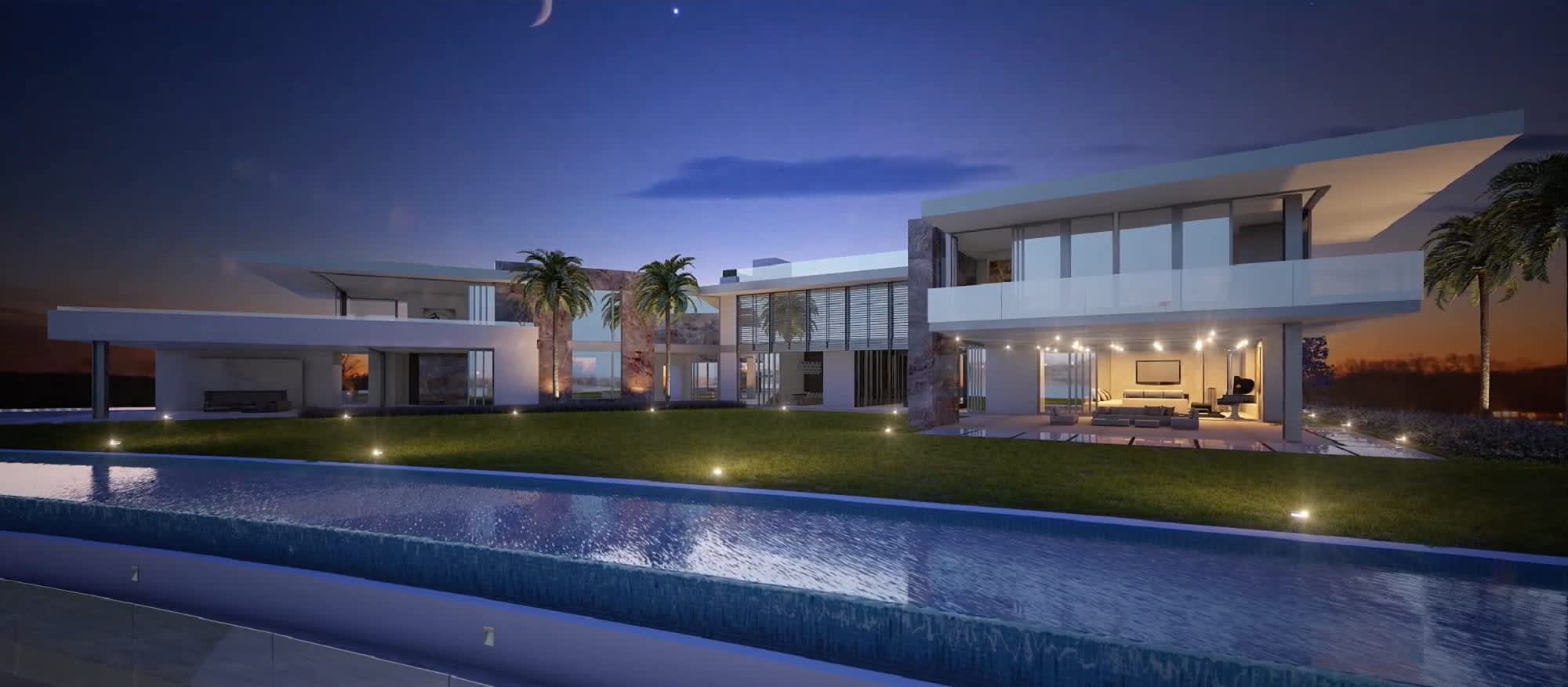 100 billion dollar house images for Pool designs under 50 000