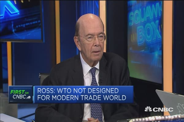 Wilbur Ross: We don't mind competition, we just want a level playing field