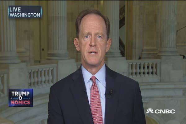 Sen. Pat Toomey: We're going to miss Bob Corker